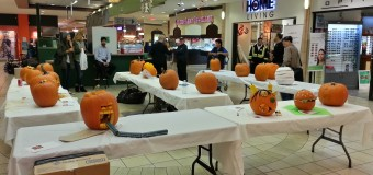 Congratulations to the Winner of Pumpkin Carving Contest at Kingsgate Mall on October 30, 2014