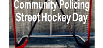 Youth Street Hockey Day – September 15, 2018