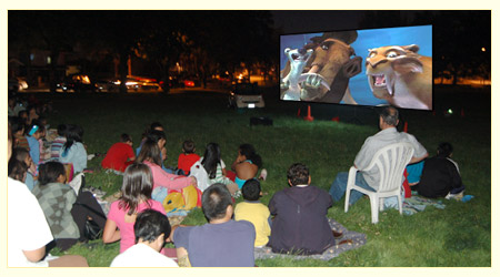 Movie in a Park